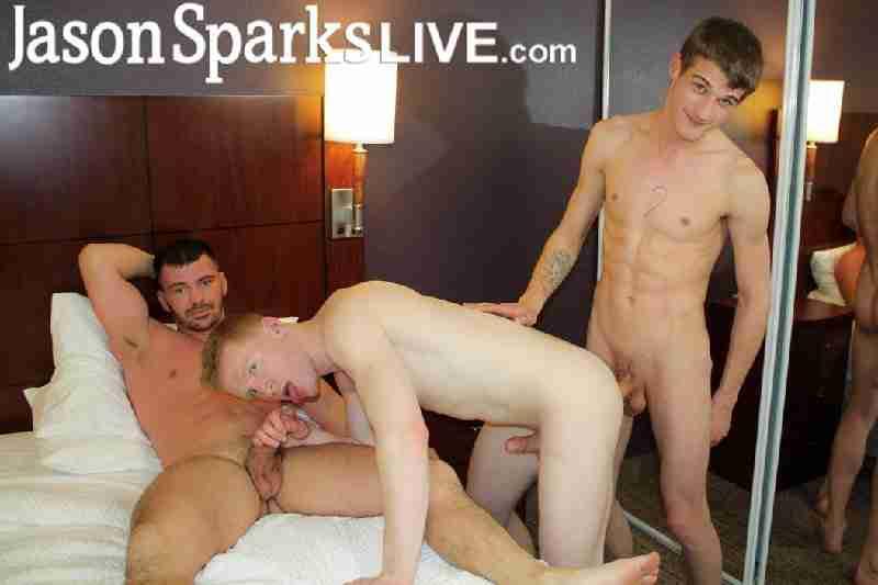 Spencer, Brogan & Trevor BAREBACK in Dallas