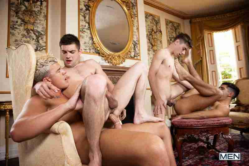 """Johnny Rapid, JJ Knight, Ty Mitchell, Joey Mills """"A Tale Of Two Cock Destroyers Episode 4"""""""