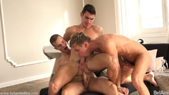 Hoyt Kogan, Jason Bacall and Bart Cuban [Bareback]
