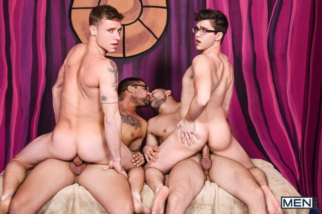 "Damien Stone, Justin Matthews, Ryan Bones, Will Braun ""Men Bang Part 4"""