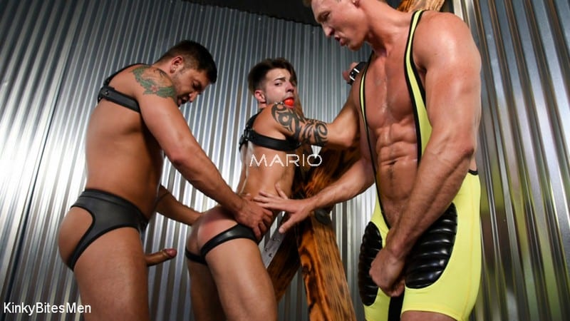 Casey Everett – Double Team Dream (with Dominic Pacifico and Pierce Paris)[Bareback]