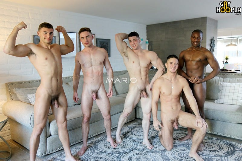 HOT Gay Orgy – Collin Simpson with Tyler, Alex, Forrest and Zach REMASTERED