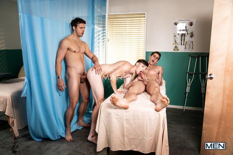 Nate Grimes, Michael Jackman, Zane Williams – Intensive Cum Unit Part 1: Bareback