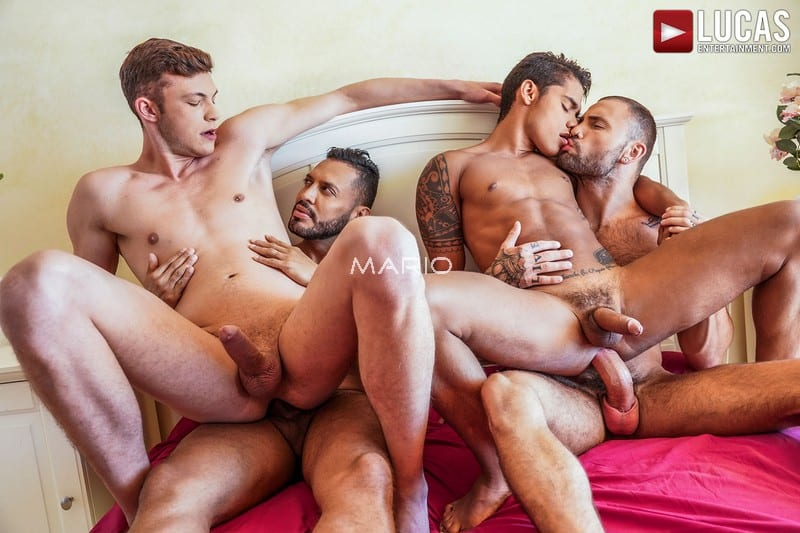 Viktor Rom, Braxton Boyd, Jeffrey Lloyd, And Randy Junior's Raw Foursome