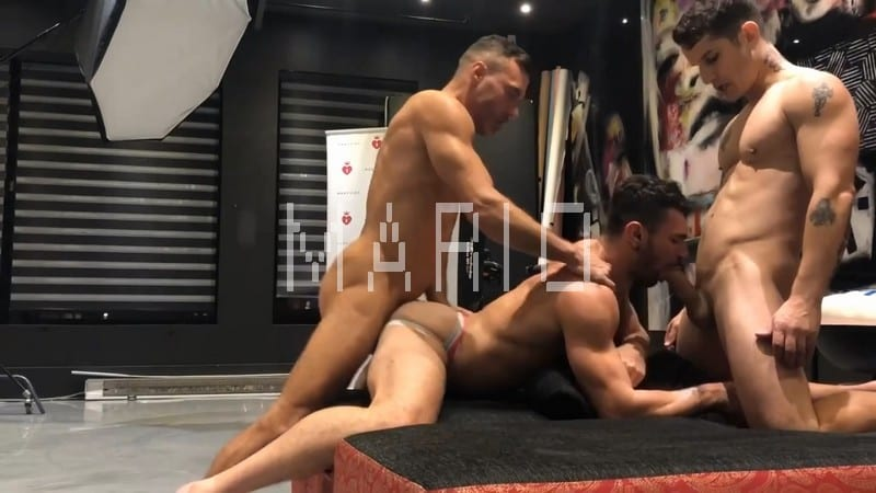 Ian Greene, Pierre Fitch and Manuel Skye [Bareback]