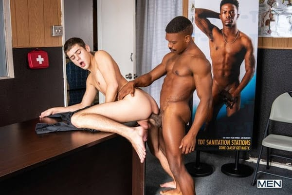"ADRIAN HART, JOEY MILLS ""DISPENSING THE GOODS"" (BAREBACK)"