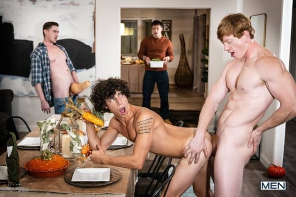 "KALEB STRYKER, JACK HUNTER, NATE GRIMES, KYLE CONNORS ""GRATEFUL FOR SQUASH"" (BAREBACK)"