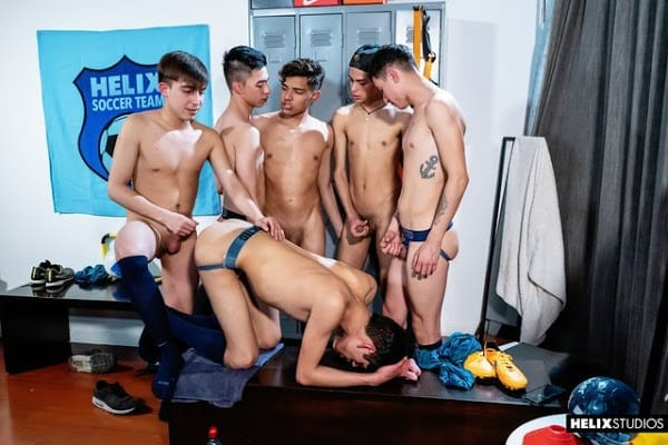 HELIX SOCCER TEAM | EP. 6 LOCKER ROOM PARTY (BAREBACK)