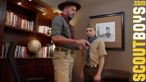 SCOUTMASTER DIETRICH : CHAPTER 1 THE PLEDGE SCOUT AUSTIN