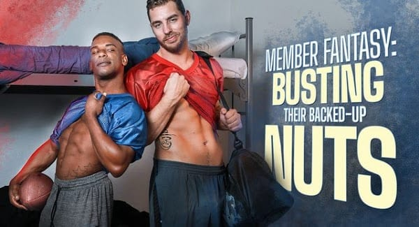 """CARTER WOODS, ADRIAN HART """"MEMBER FANTASY: BUSTING THEIR BACKED UP NUTS"""""""