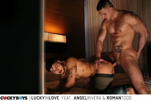 LUCKY IN LOVE : ANGEL RIVERA & ROMAN TODD (BAREBACK)